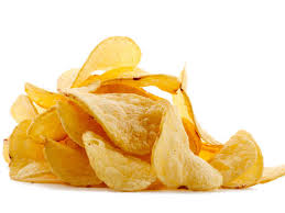 Zoutjes-chips